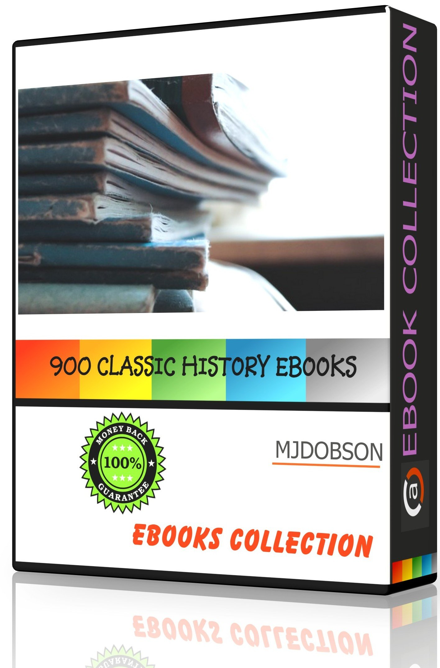 History Ebooks For Kindle, Sony Readers Etc On Dvd(md98) 900+ Classic