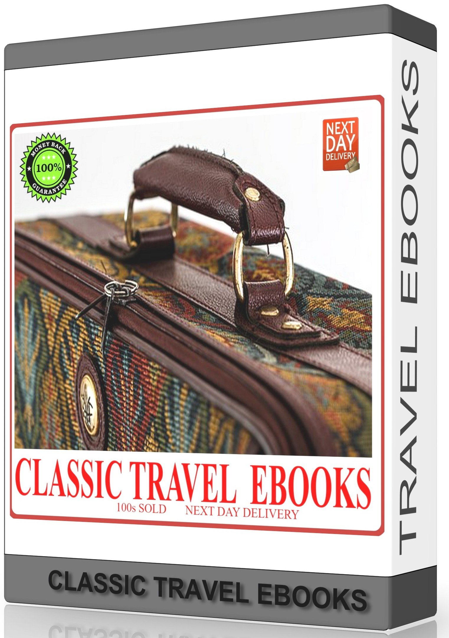 Classic Travel Ebooks For Kindle, Sony Readers