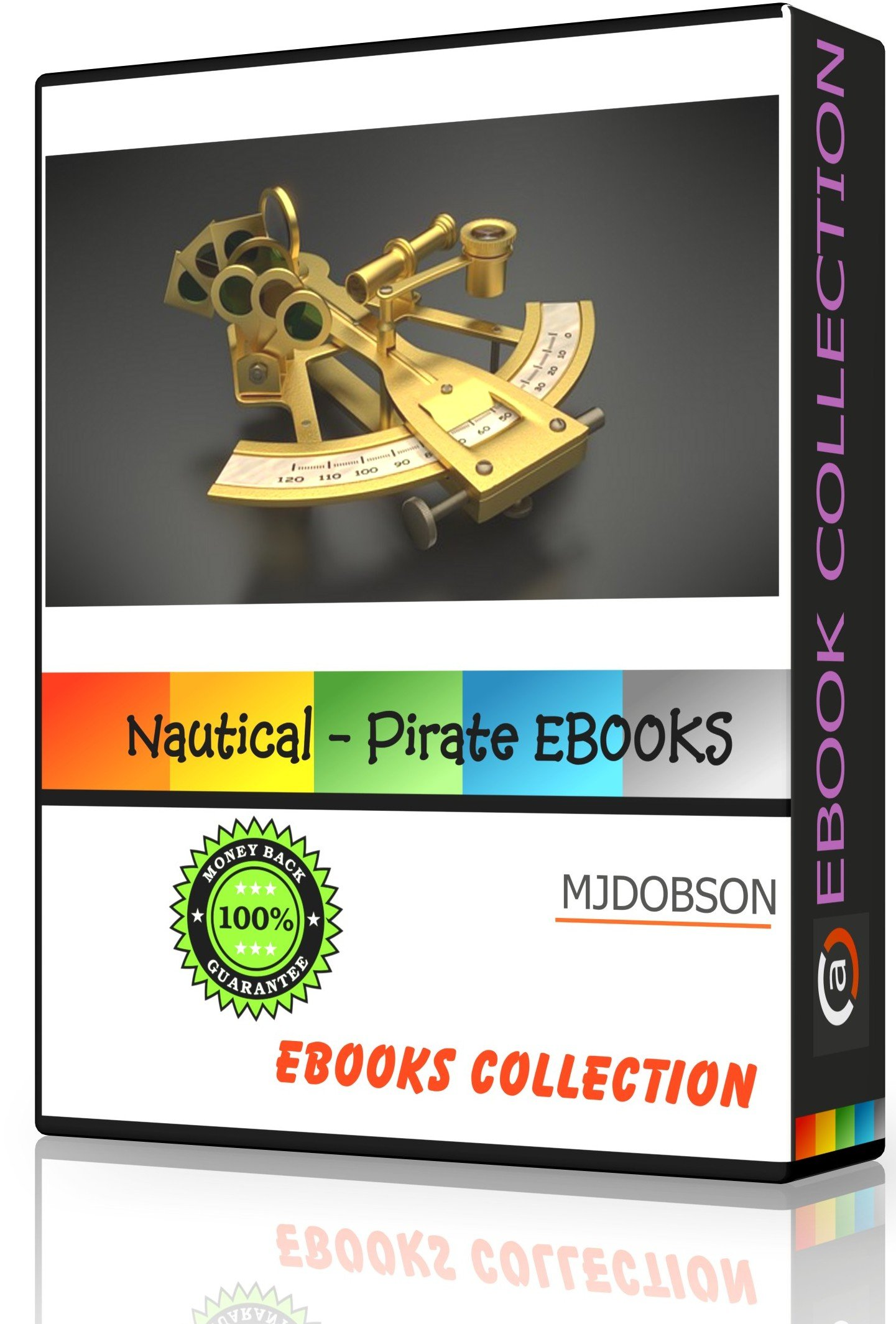 Nautical Sea Pirate Ebooks For Kindle, Sony Readers