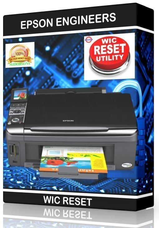 EPSON PRINTER RESET WASTE INK PADS SERVICE ERROR FAULT KEY DOWNLOAD