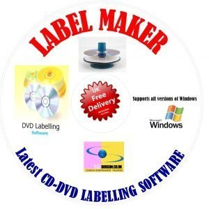 cd dvd design label maker creator professional print pc cd dvd