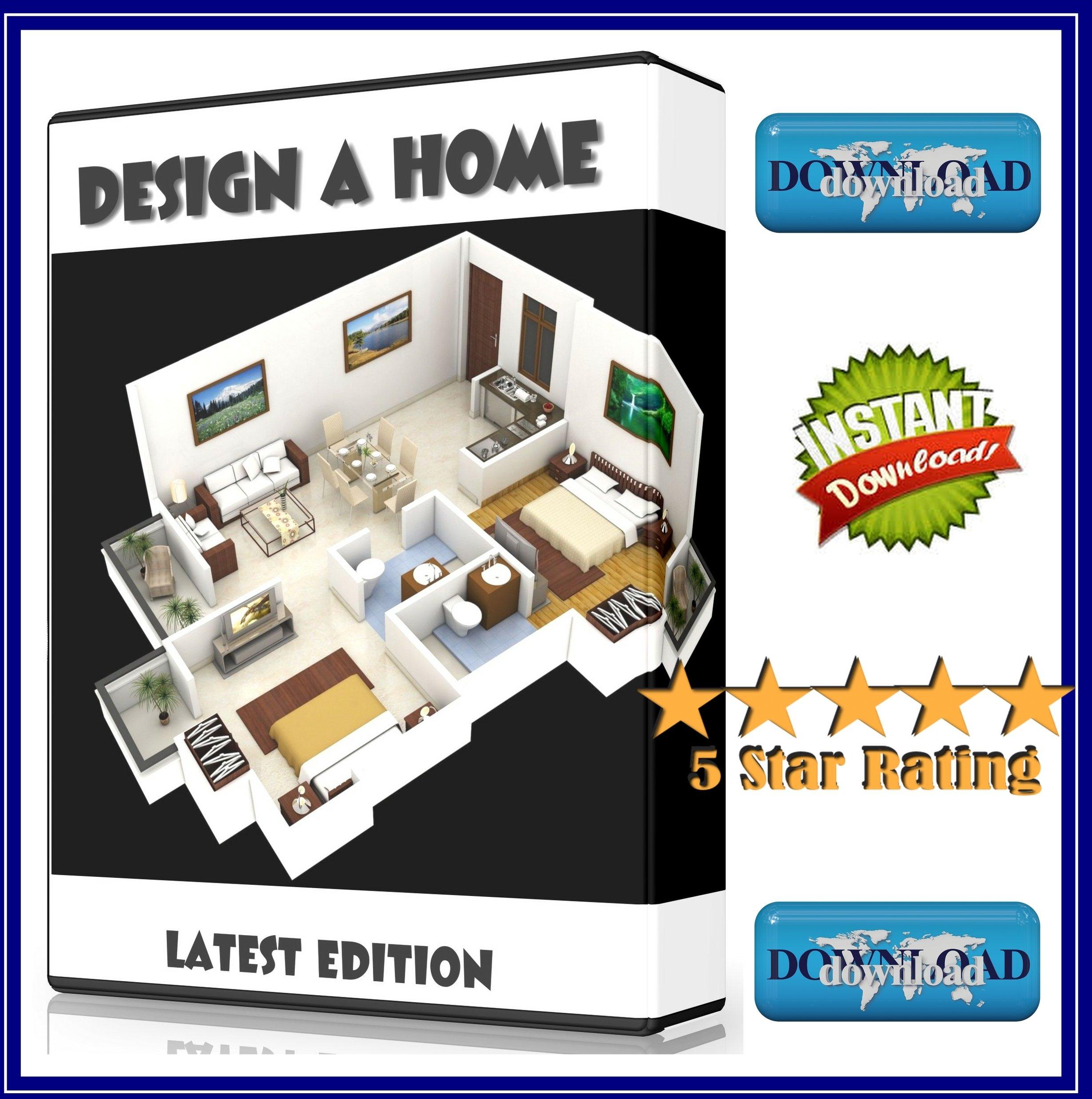 DESIGNER HOUSE BATHROOM KITCHEN PLANNER SOFTWARE DOWNLOAD