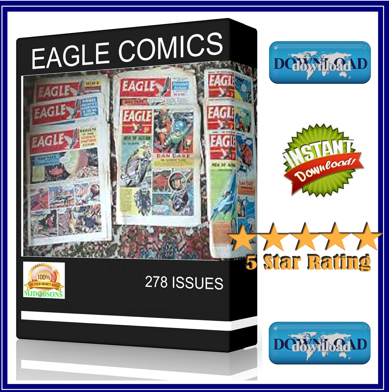 Eagle Comic Mags 278 issues plus Bonus Items inc View Software ...