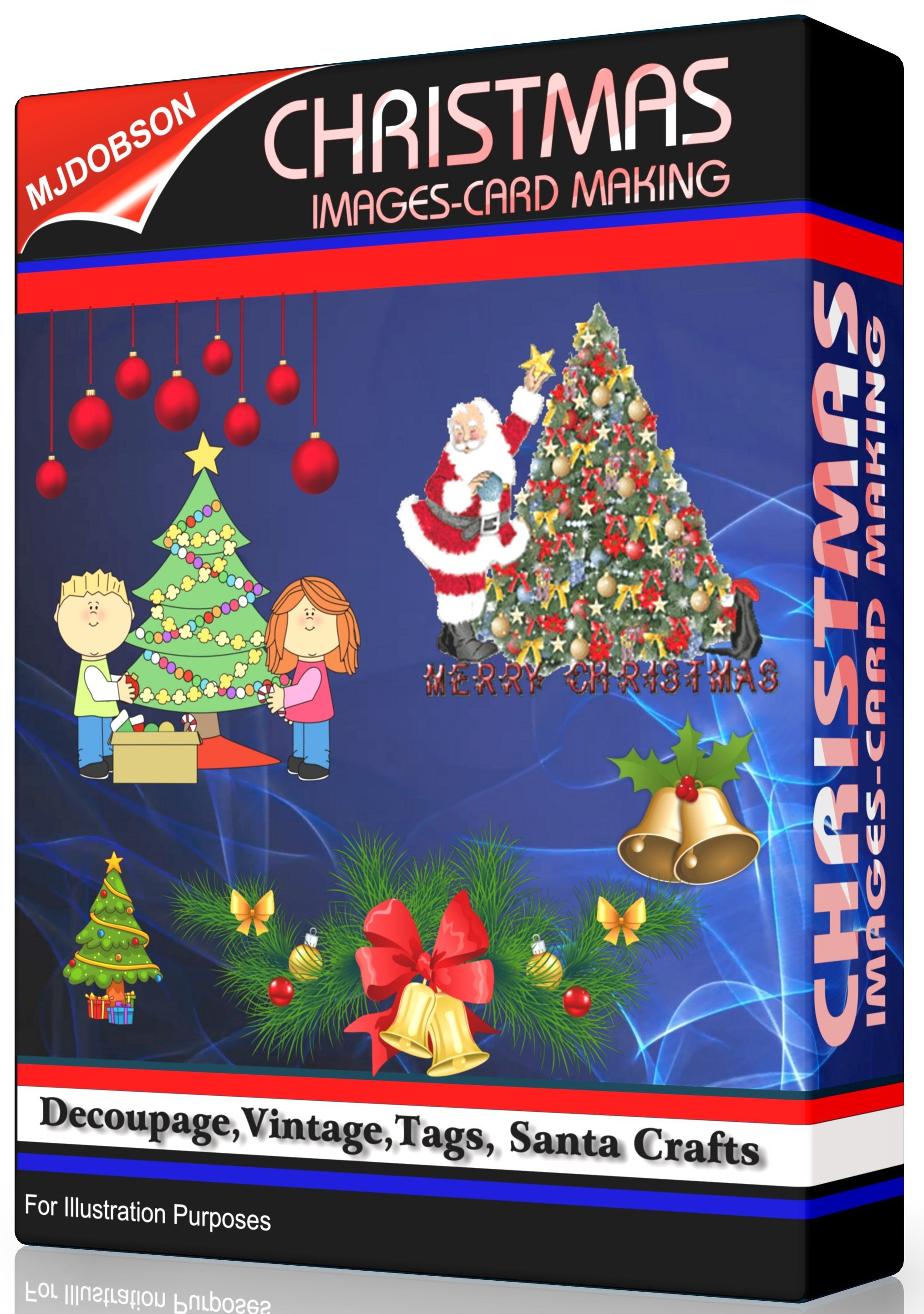 Details about CHRISTMAS IMAGES,Card Making, Decoupage,Vintage,Tags, Santa  Craft Download