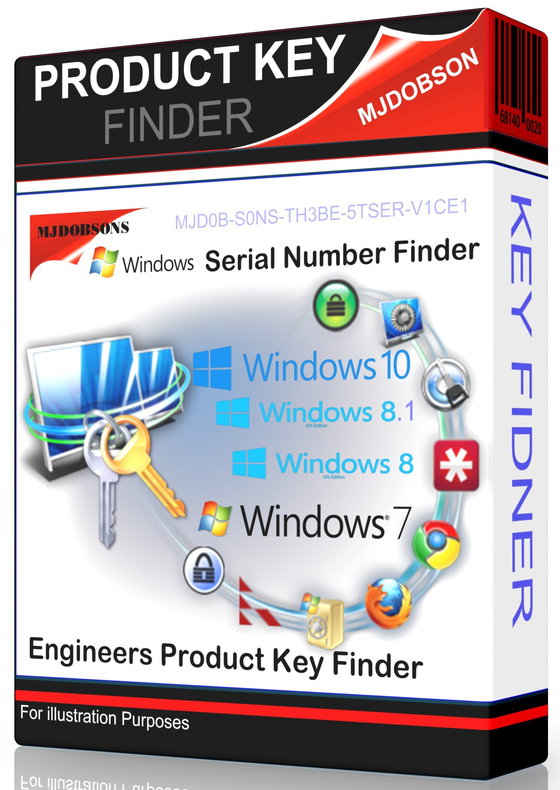 Details about Product/Key Number Finder for Windows 10 Vista /XP Windows  7,8 Recover your Key